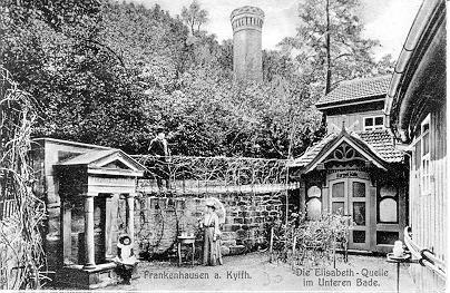 historisches Bild der Elisabeth-Quelle