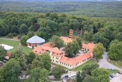 Jagdschloss und Hochseilgarten