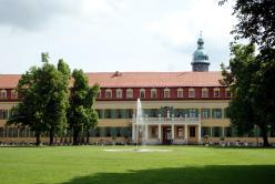 View of west wing